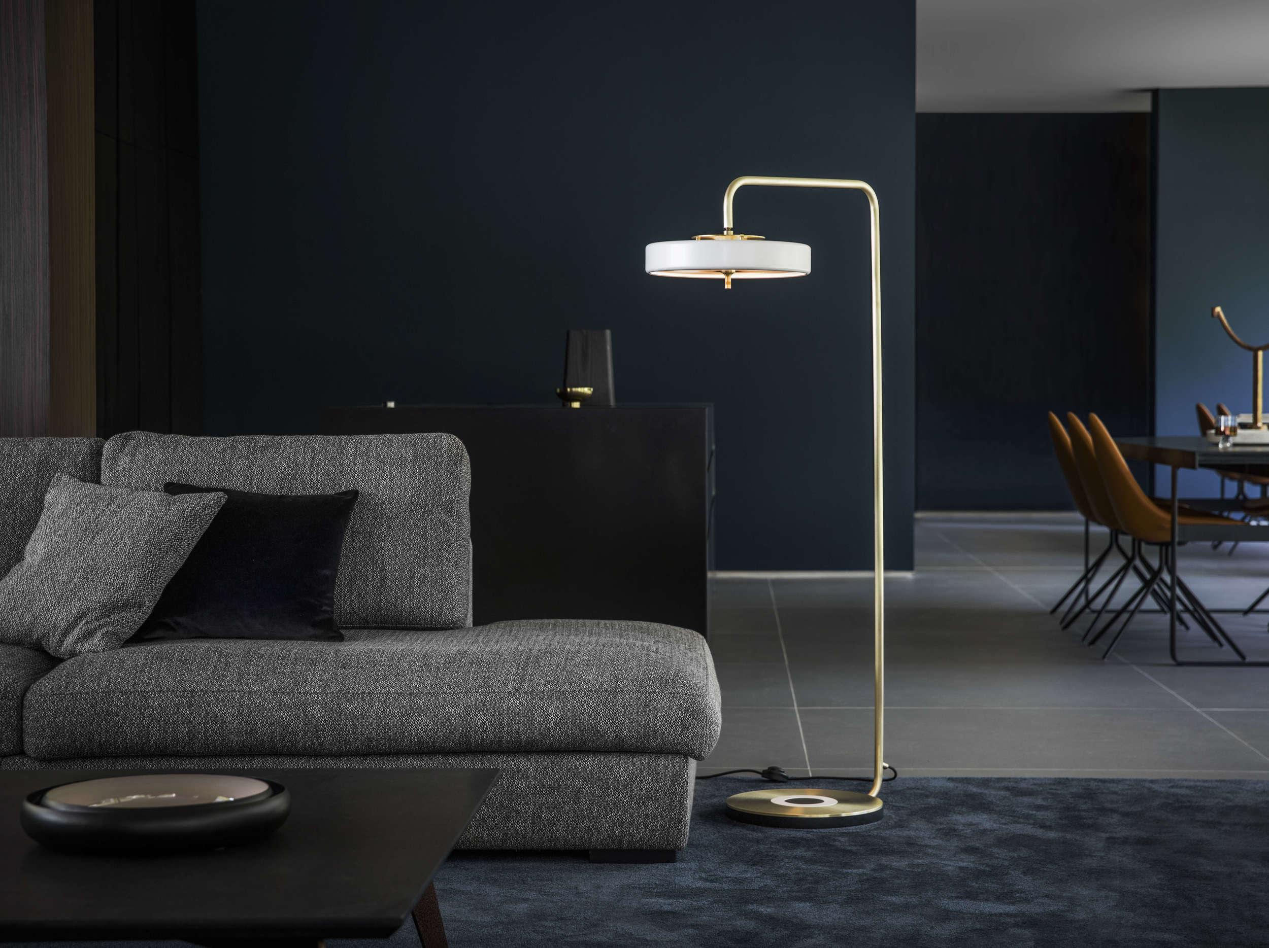 Lamp In Kast : Bert frank revolve stehlampe u hoyer kast interiors